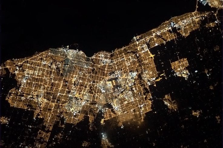 Toronto as seen from the ISS