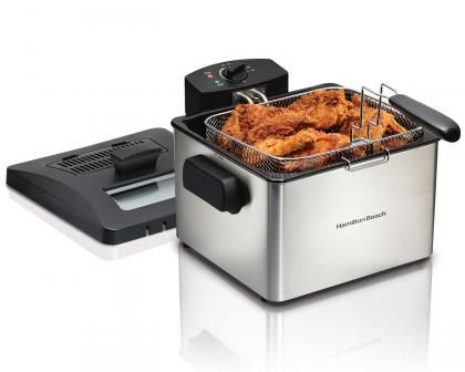 21 Cup Oil Capacity Professional-Style Deep Fryer (35042)