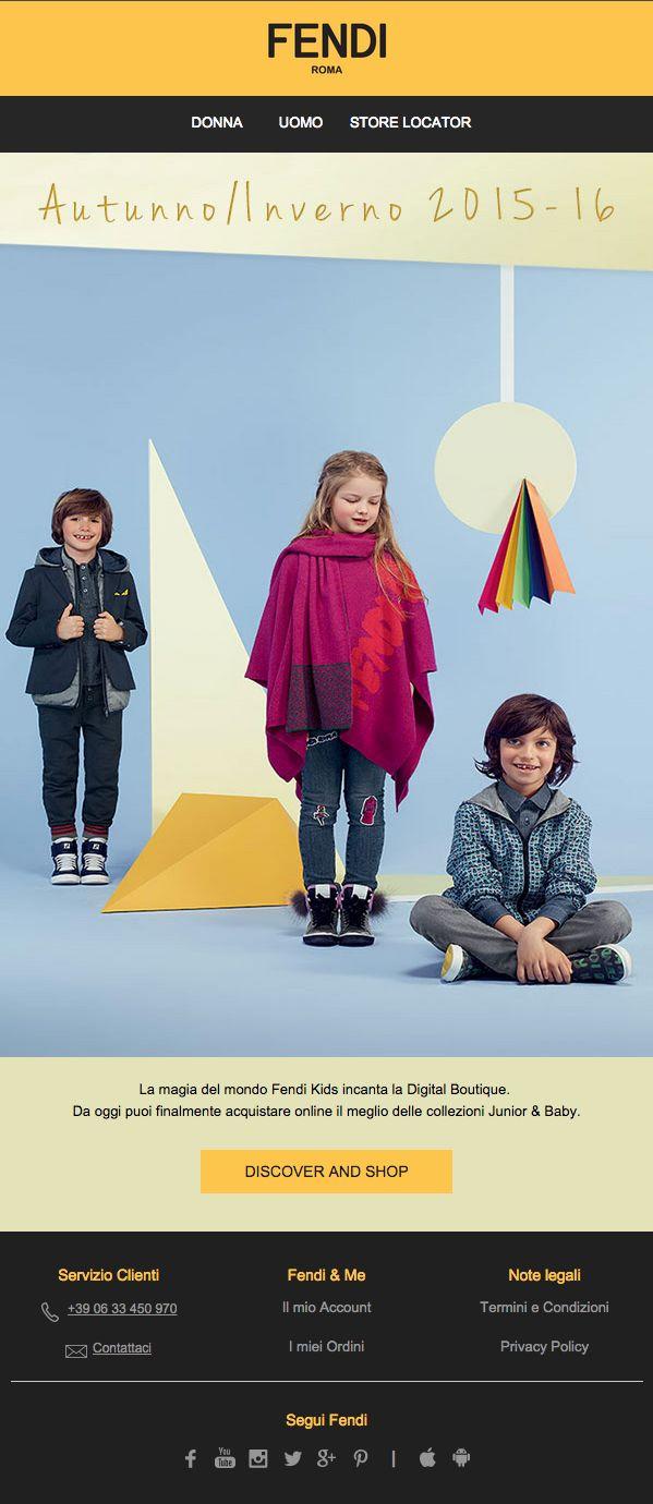 Fendi | Collezione Kids - Shop online su Fendi.com