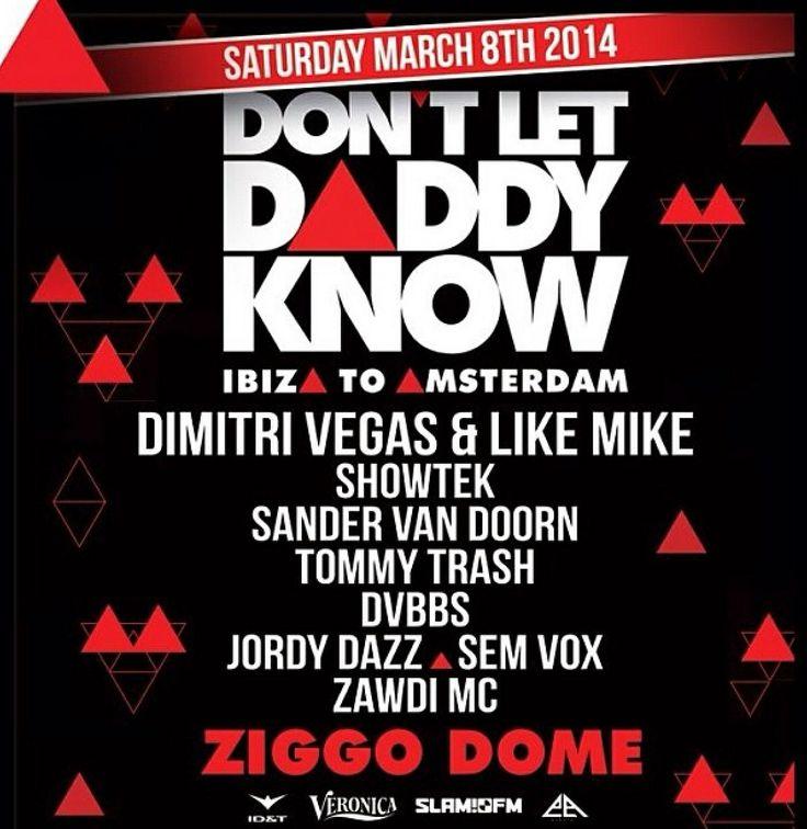 Don't let daddy know 08-03-2014 Ziggo Dome Amsterdam