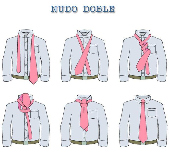 17 best images about nudos de corbata on pinterest moda for Pasos para hacer nudo de corbata