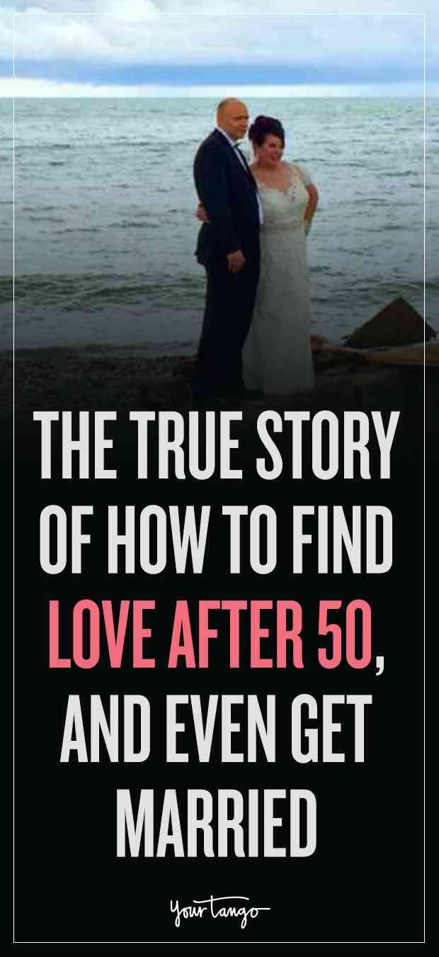 Chances getting married after 50