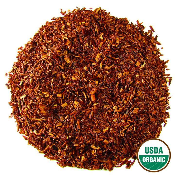 Organic Rooibos Loose Leaf Herbal Tea | South African Red Bush 4oz Tin – Full Leaf Tea Company