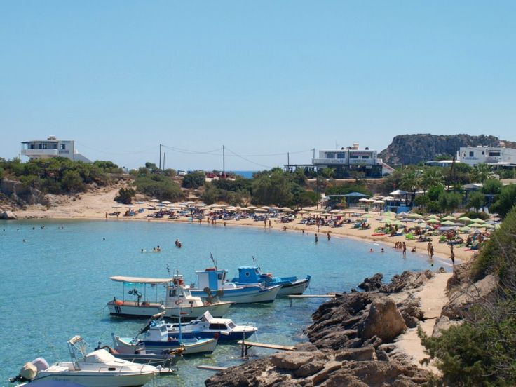 Big Amoopi Beach of Karpathos Greece