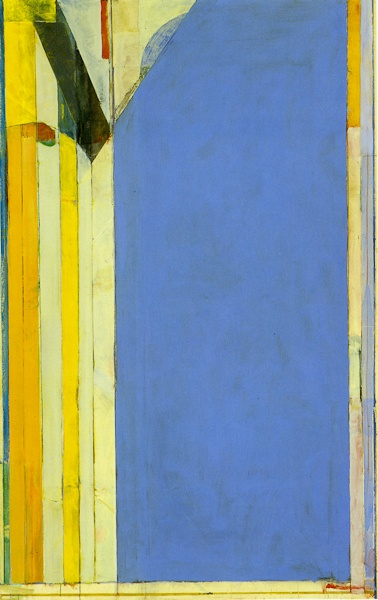 "Richard Diebenkorn, Ocean Park No 139. ""You can never, never, never have too much yellow!"""