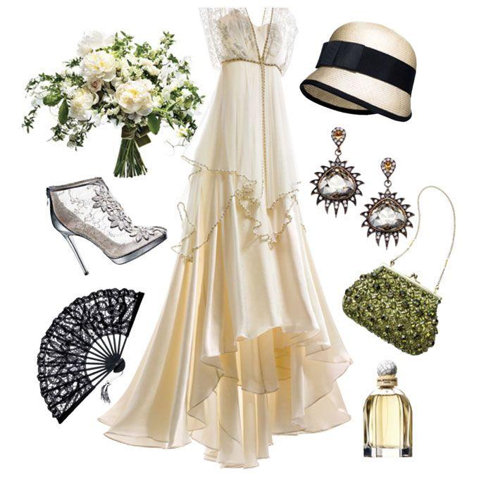 Brides: Style Inspiration: Downton Abbey | Dresses & Style | Brides.com | Wedding Ideas