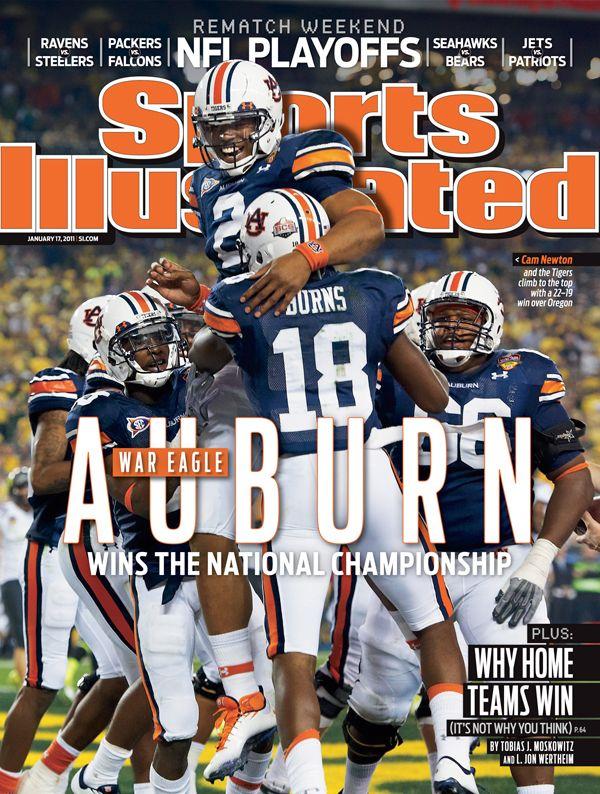 Sports Illustrated - Auburn wins national championship 2010