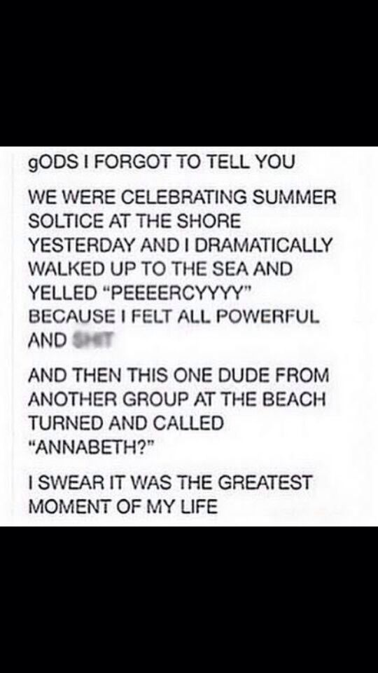 WHY CAN'T THIS HAPPEN TO ME I DON'T UNDERSTAND. I WOULD MARRY HIMMMM. I GO TO ONE OF THE BIGGEST CONS AS ANNABETH AND NOTHING.