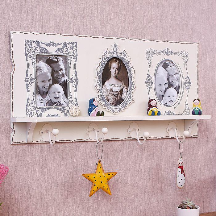 Американский кантри дерева фото сочетание стены фоторамки-гостиная спальня украшения