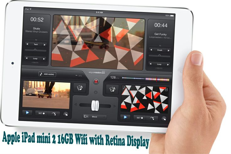 "Buy Apple iPad mini 2 16GB Wifi with Retina Display from TipTop Electronics with 7.9"" LED Multi-Touch IPS Retina Display"