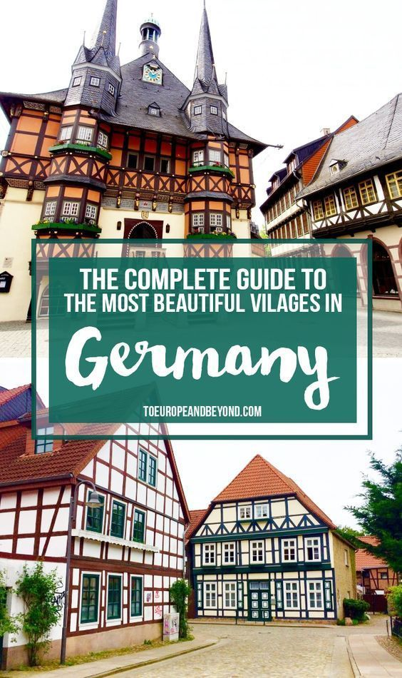 Germany vacations best places to visit - summervacationsin.com