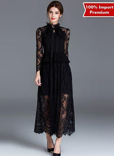 Dress Import Premium / Party Dress / Baju Pesta 582PR  | shopasista.com | Distributor baju import | distributor baju korea | grosir baju korea | grosir baju import | supplier baju korea tangan pertama | importir baju korea