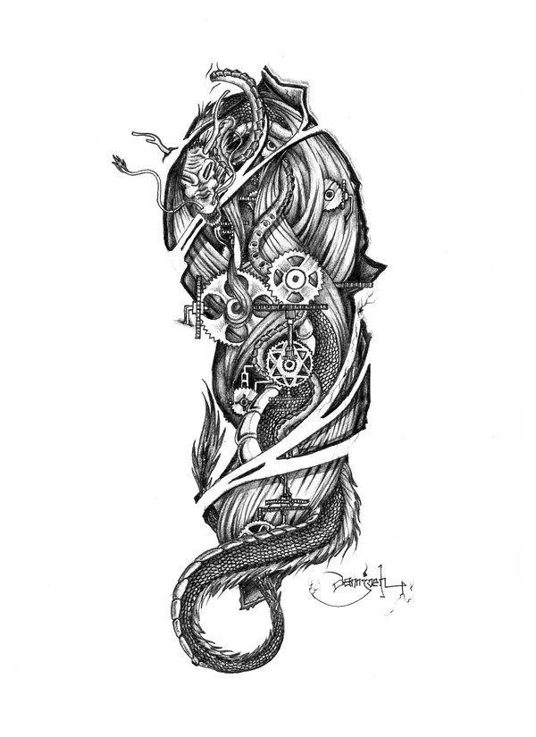 biomechanical spine drawings - photo #17