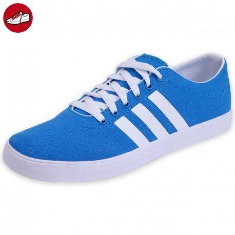 adidas neo Easy Vulc VS Schuhe Herren Sneaker Turnschuhe Blau F99180, Größenauswahl:43 1/3 - Adidas sneaker (*Partner-Link)