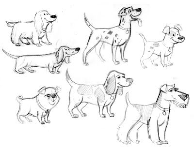 Dogs Wallpapers Backgrounds: Dog Drawing Arts Photo