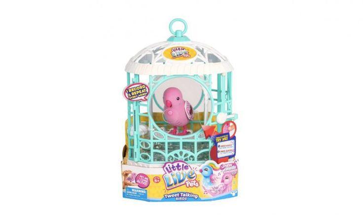 Amazon Deal : Little Live Pets Ruby Bell Bird + Cage $12.59 (reg. $22) - http://couponsdowork.com/amazon-deals/amazon-deal-little-live-pets-ruby-bell-bird-cage-12-59-reg-22/