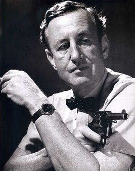 MAY 28 British writer Ian Fleming born this day 1908 (died 1964). 'It's just that I'd rather die of drink than of thirst' (Thunderball).