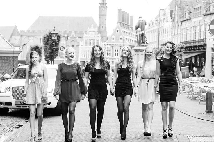 Sweet 16 verjaardagsfeest  Vriendinnen fotoshoot in
