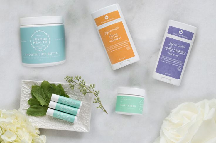 Joyous Essentials Personal Care Package –100% non-toxic and made with LOVE!