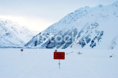 Road to the Hooker Valley, Aoraki National Park, NZ Royalty Free Stock Photo