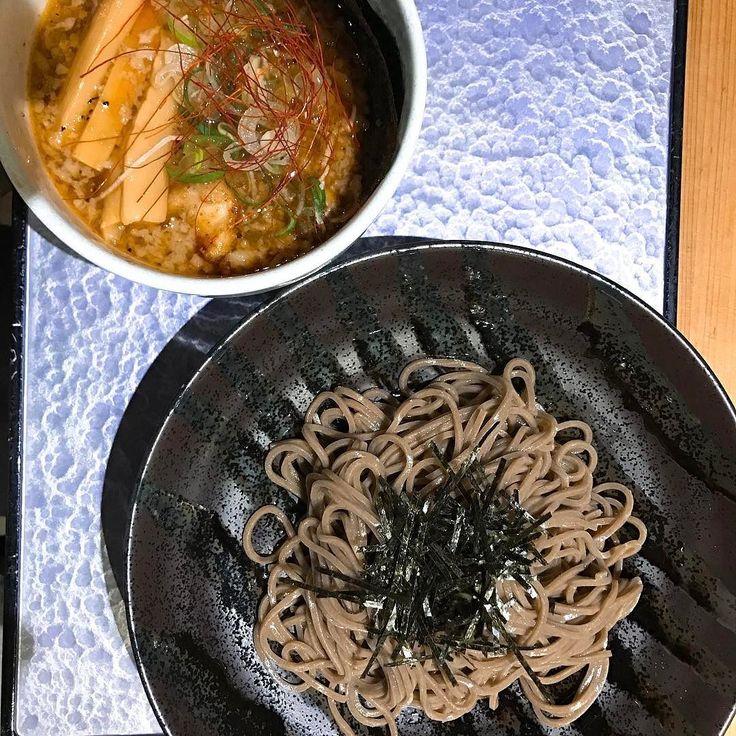 特選つけ蕎麦こってり@つけ蕎麦安土  1290円  #つけ蕎麦  #つけ蕎麦安土 #歌舞伎町 #ラーメン #らーめん #麺スタグラム #food #noodles #tokyo