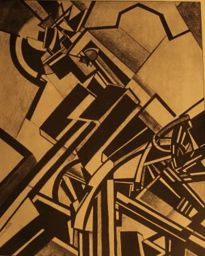 Timon of Athens - by Wyndham Lewis (1914)