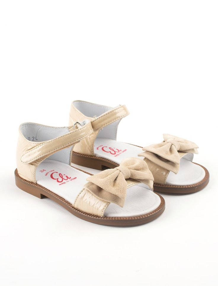 Patent Leather Toddler Sandals With Su 232 De Bow From Eli