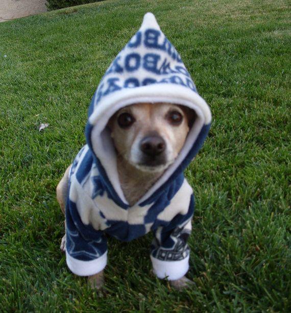 Dallas Cowboys NFL Dog Hoodie FREE SHIPPING by GypsyEyesClothing, $35.00