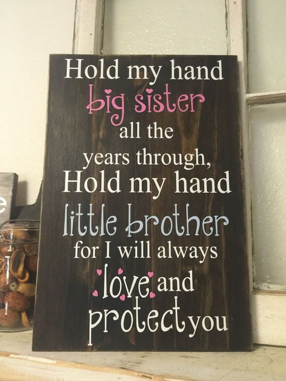 Big Sister Little Brother by iSTICKerTHAT on Etsy