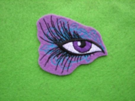 Gypsy Hippie Eye Scroll Make up Jewel Iron on by ThisandThatPark