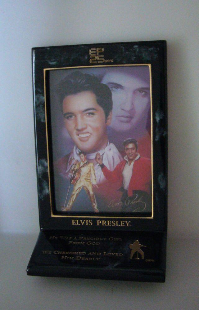 Elvis 25th Anniversary Memorial Bradford Exchange A Precious Gift