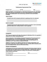Image result for performance improvement plan template