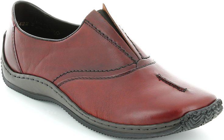 Rieker női bőr félcipő