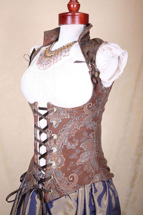 Pirate corsage! PRETTY!