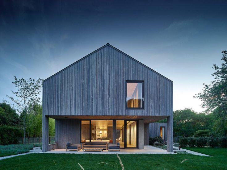 5309 best Maison bois images on Pinterest Small houses, Modern - maison bois en kit toit plat