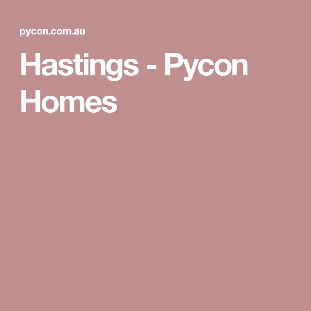 Hastings - Pycon Homes