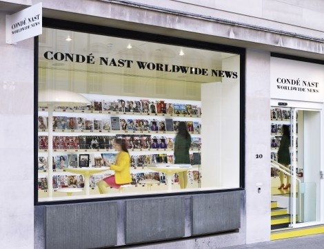 Conde Nast World Wide News - Ab Rogers Design