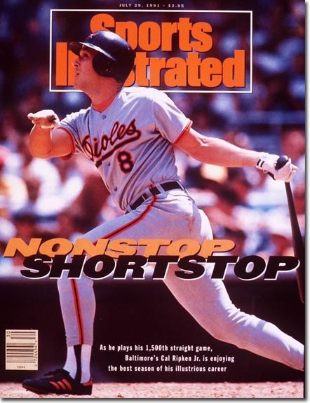 baseball digest covers Orioles Baltimore | On the Cover: Cal Ripken, Jr., Baseball, Baltimore Orioles