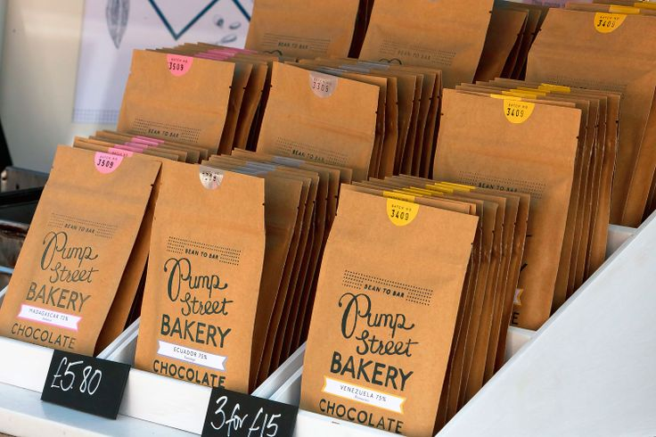 Bean to Bar chocolate from @Pump Street Bakery at Aldeburgh Food & Drink Festival 2013