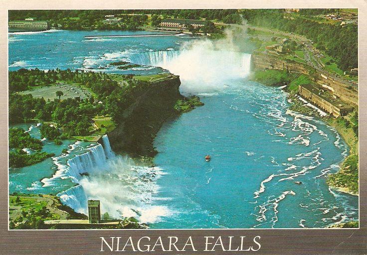 Niagarské vodopády Kanada
