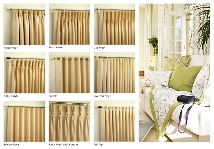 Drapes uk curtain heading pictures with different styles for Drapes or curtains difference