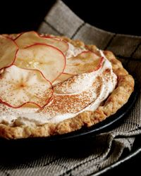 Apple Cider Cream Pie.