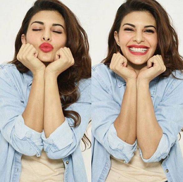 Jacqueline Fernandez for Sealed with a kiss photoshoot