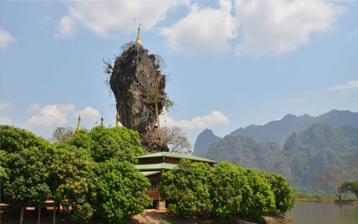 Hpa-an is the capital of Kayin (Karen) state in Myanmar, famous for its ancient buddhist caves, the beauty of the surrounding hills and its hospitable people.