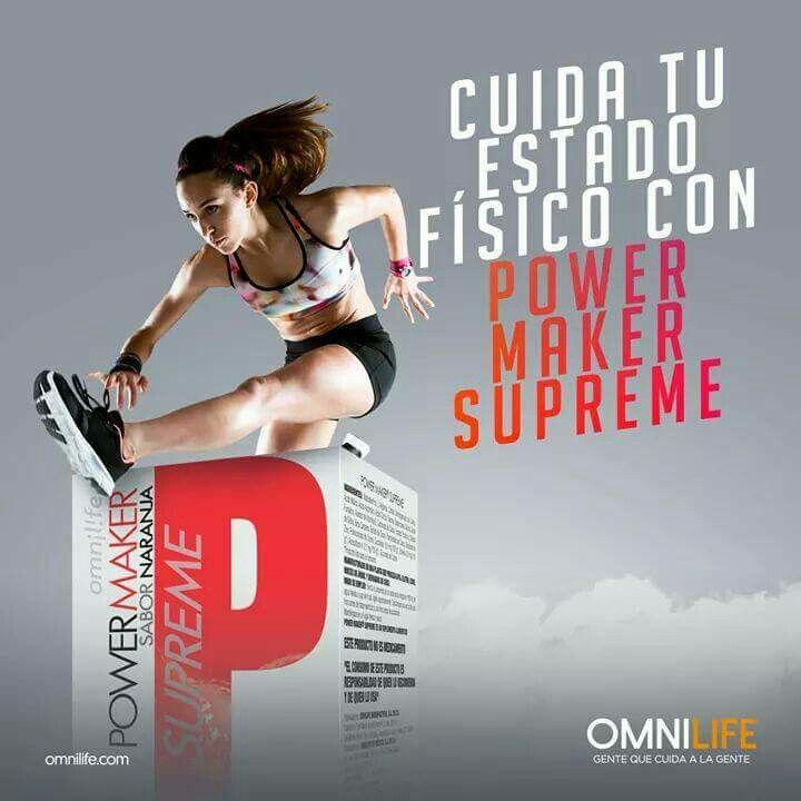 ¿Sabías que Power Maker Supreme es un suplemento alimenticio que puede favorecer el buen funcionamiento muscular?  Disfruta de sus beneficios!