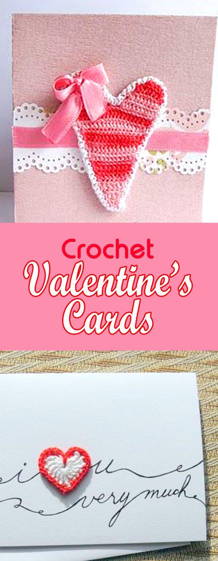 Crochet Valentine's Card, Crochet Valentine's Card inspiration, heart card, crochet heart card, crochet applique card, crochet applique heart card,crochet applique heart valentine's card, crochet applique valentine's card;