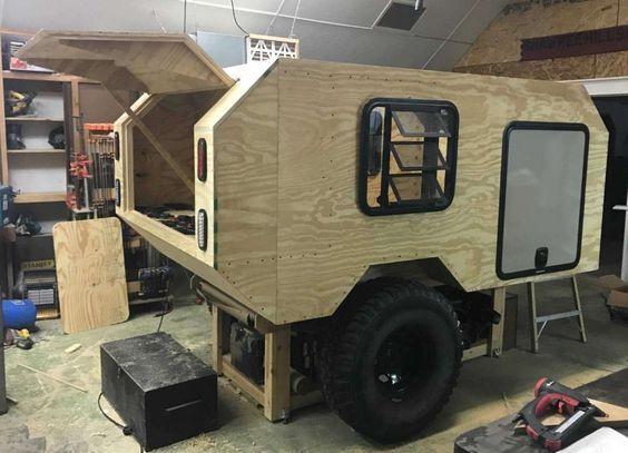 24 Best Diy Camper Cargo Trailer Conversion Toy Hauler