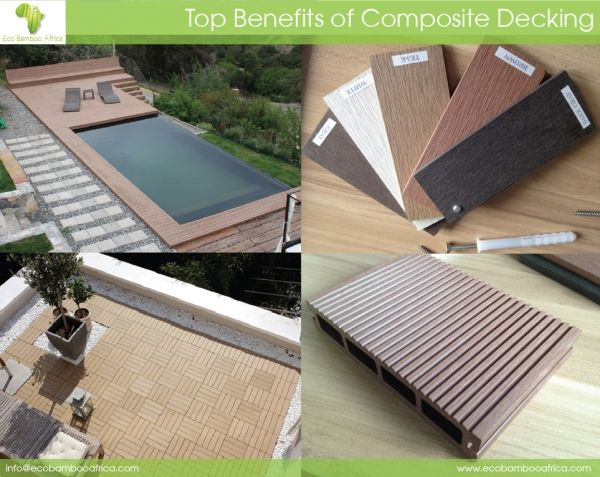 The Benefits of Composite Decking #decking #bamboo
