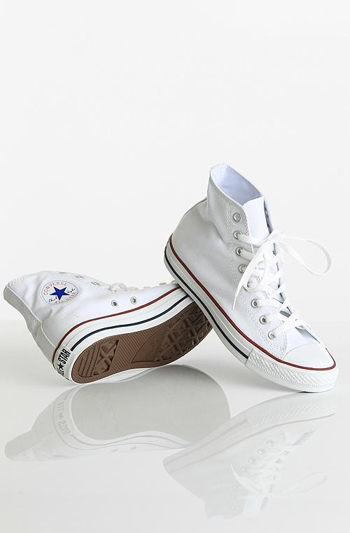 Converse All Star Hi kengät Optical White 69,90 € www.dropinmarket.com