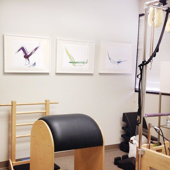 SALE!  3 Large Yoga or Pilates prints by LindsaySatchell on Etsy https://www.etsy.com/listing/277145216/sale-3-large-prints-yoga-or-pilates